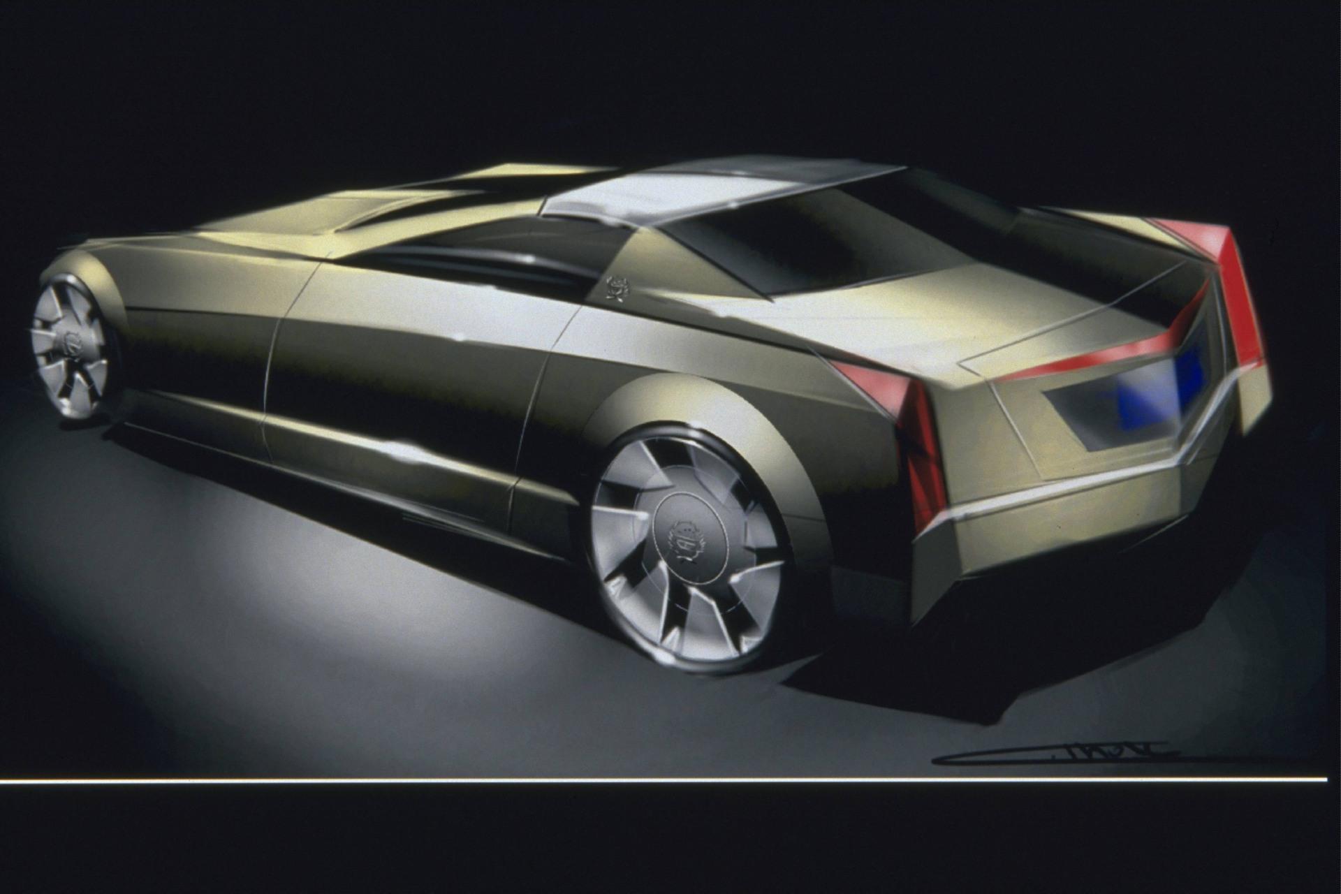 Cadillac Evoq Concept 1999