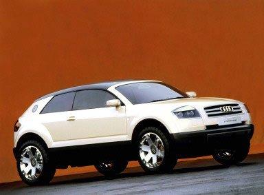 2000 Audi Steppenwolf Concepts