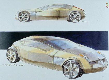 Renault Talisman, 2001