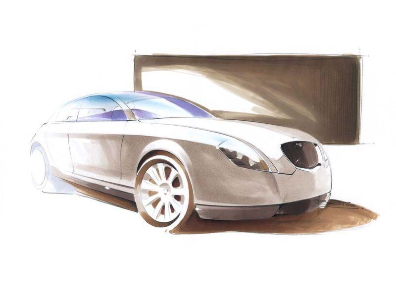 2002 Lancia Granturismo Carcerano Concepts