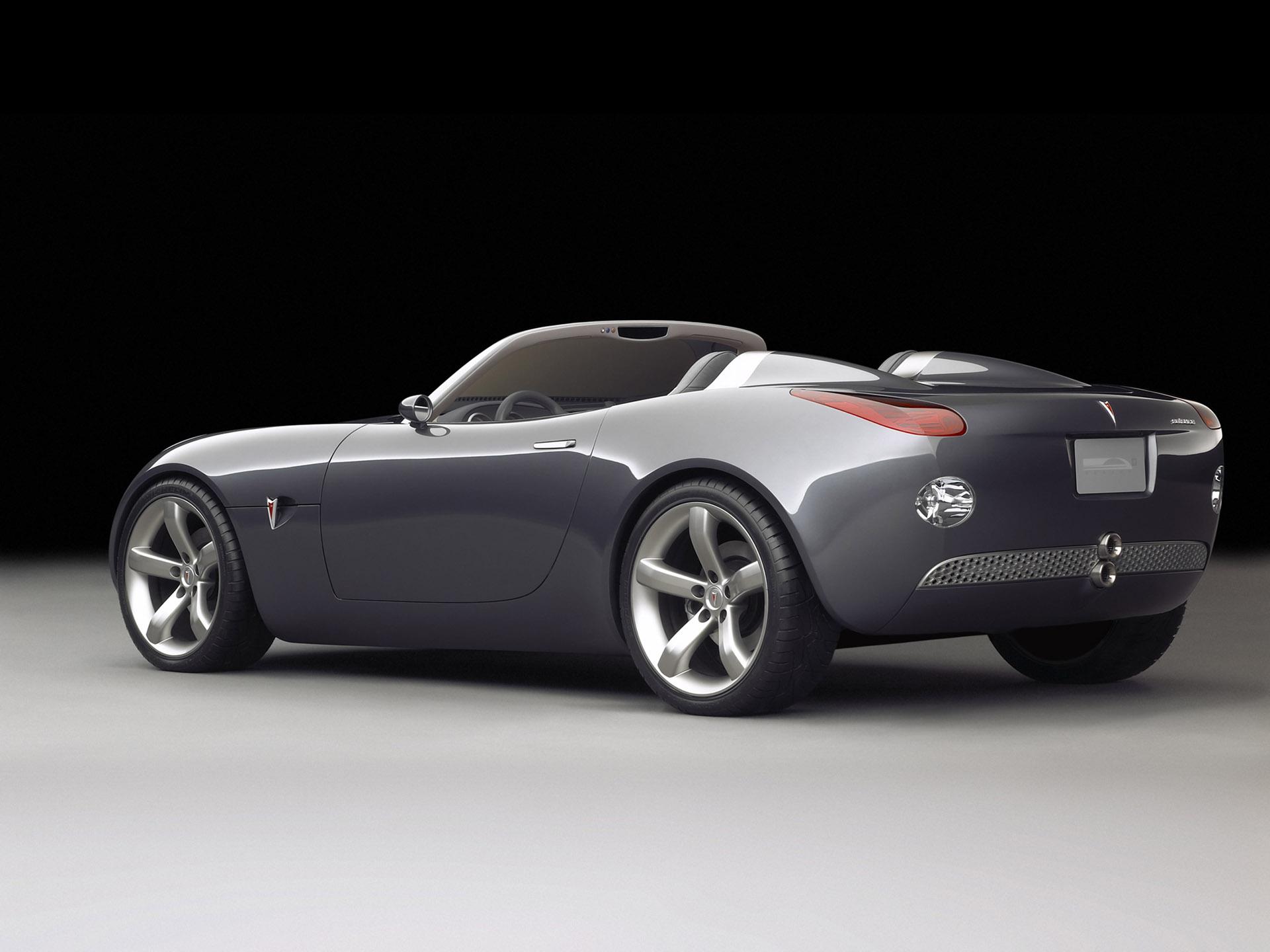 Pontiac Solstice Convertible Concept Car 2002