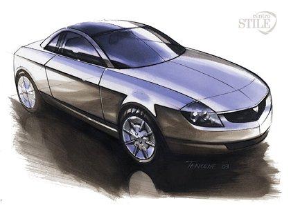 2003 Lancia Granturismo Stilnovo Concept