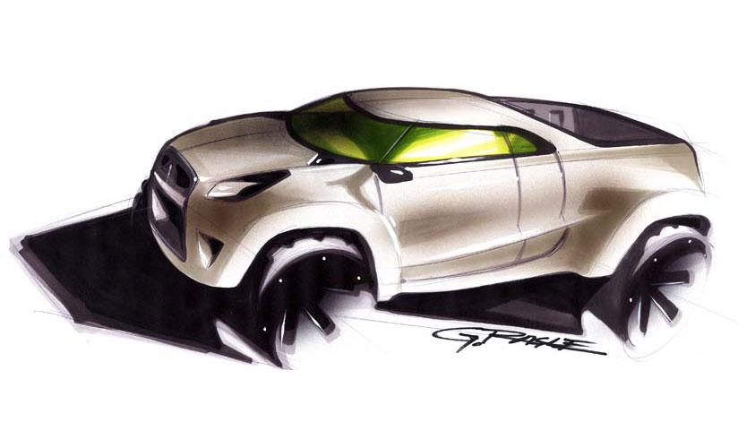 2004 Mitsubishi Sport Truck Concepts