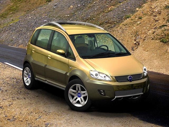 2004 Fiat Idea 5terre Concepts
