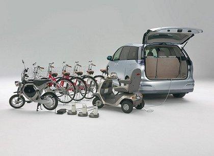 Toyota on 2005 Toyota Estima Hybrid   Concepts