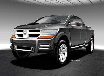 2006 Dodge Rampage Concept. 2011 EDAG 2006 Dodge Rampage