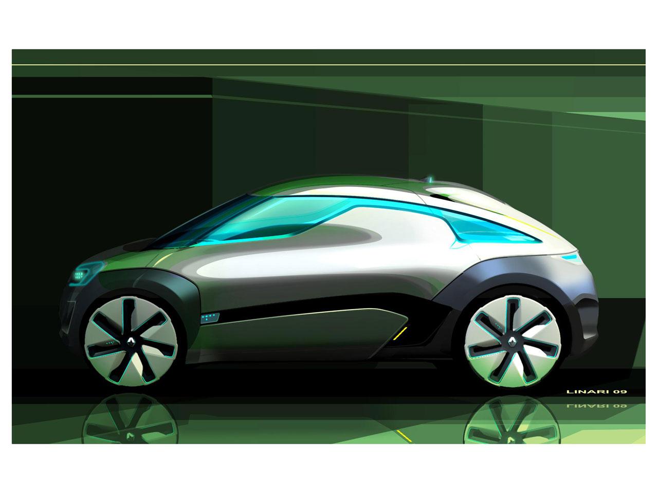 2009 Renault Zoe Z E Concept Concepts