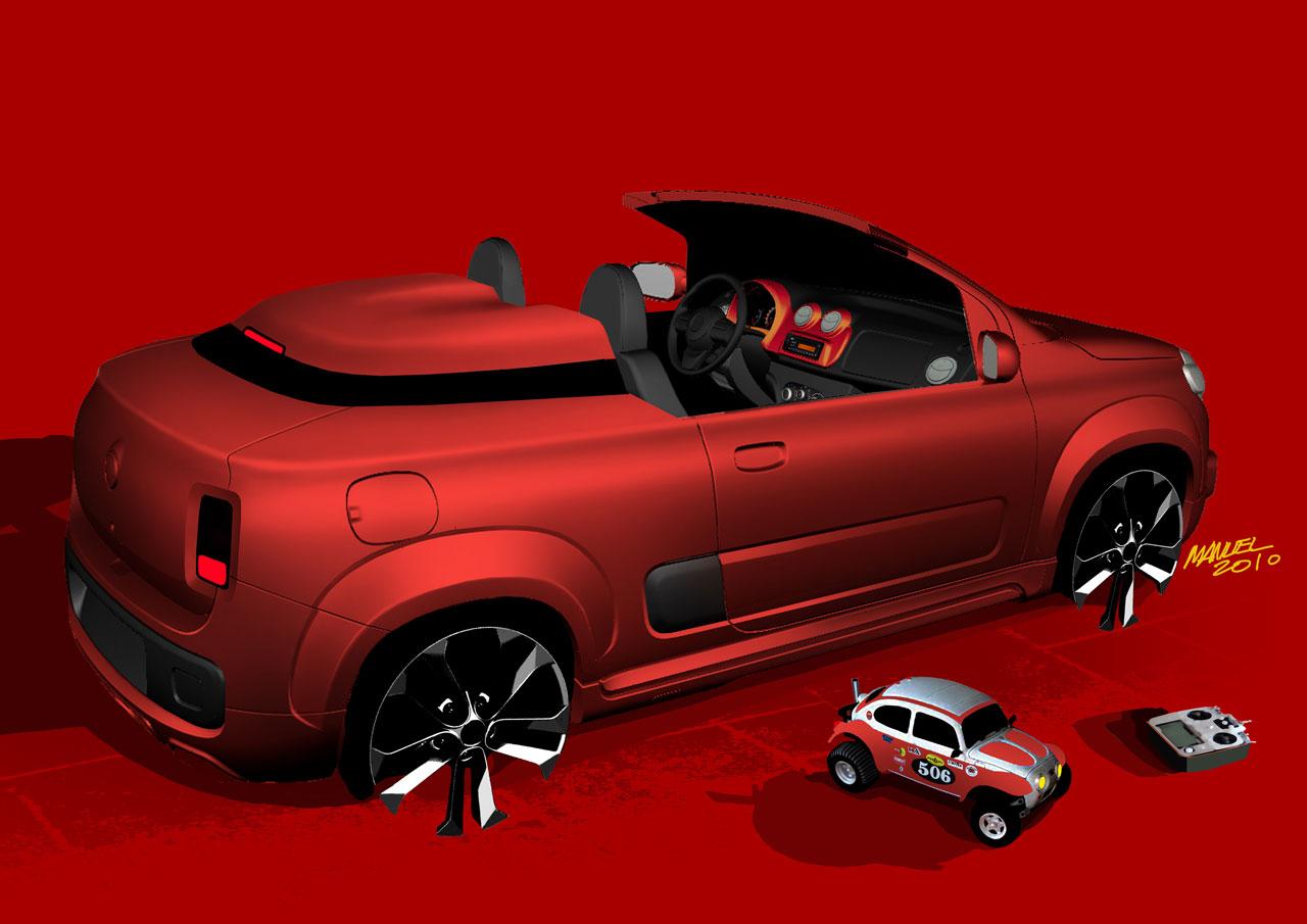 2010 Fiat Uno Cabriolet Concepts