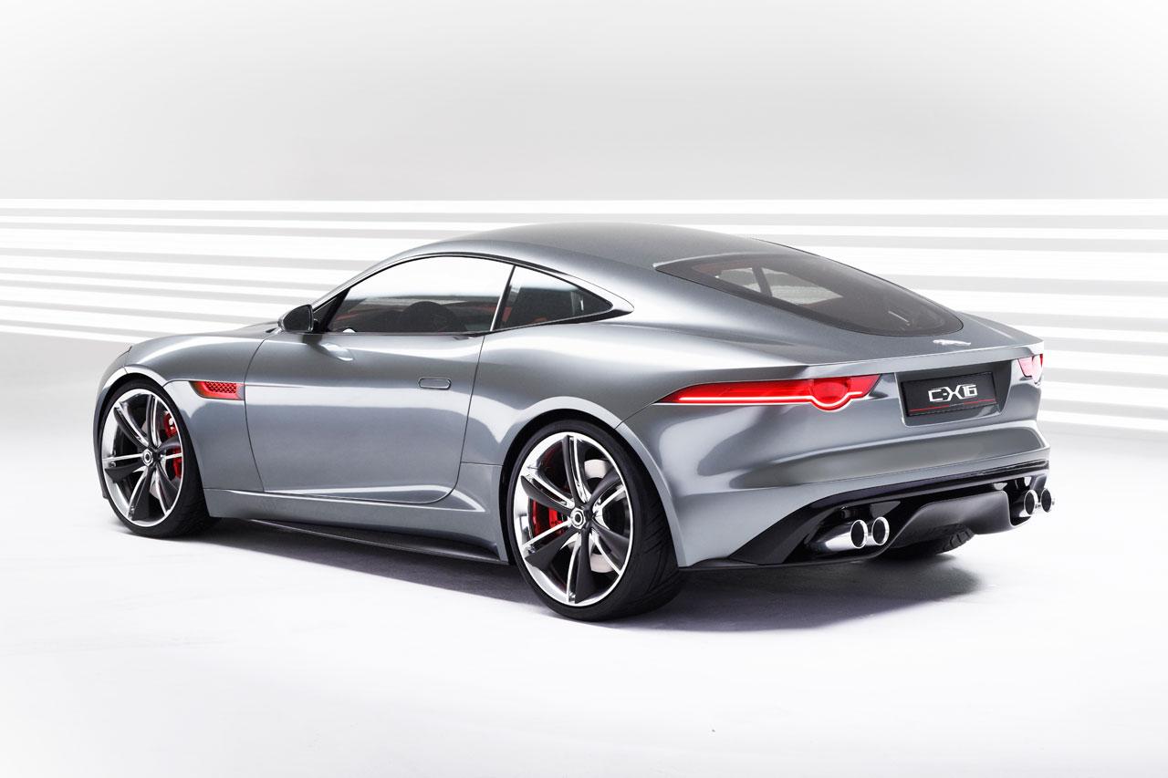 2011 Jaguar C X16 Концепты