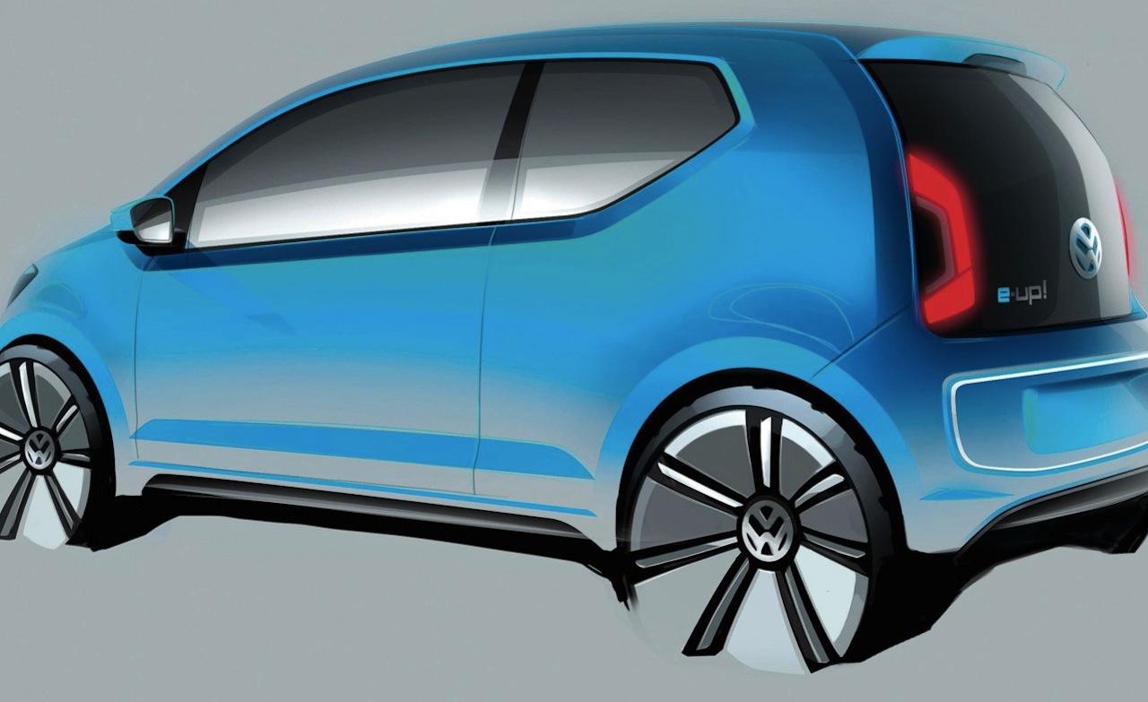 2011 Volkswagen e-Up! - Concepts Volkswagen