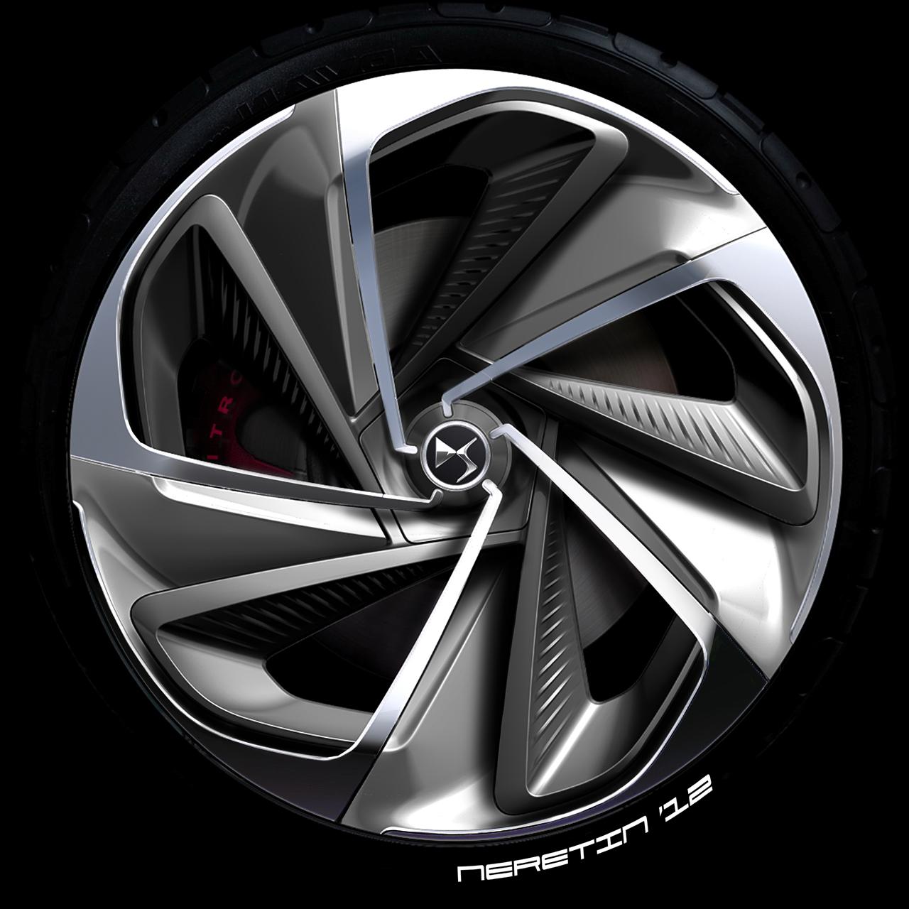 Tractor Wheels Concept : Citroen numero concepts