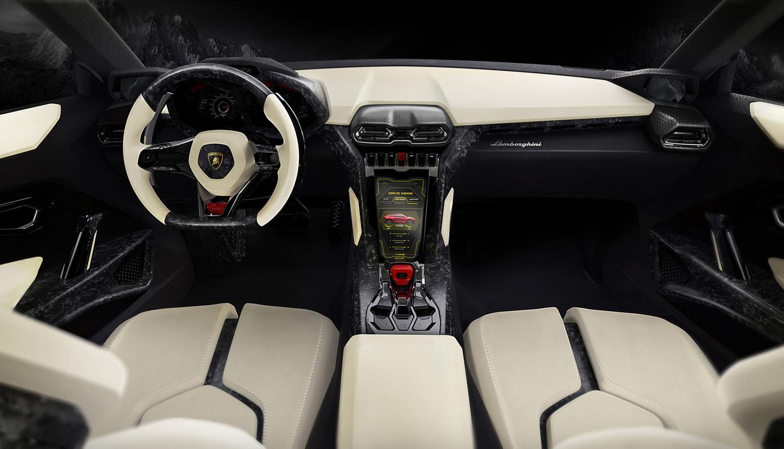 2012 Lamborghini Urus Concepts