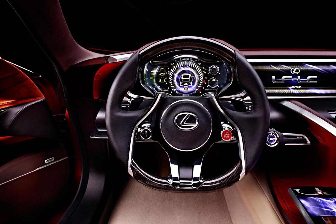 2012 Lexus LF-LC - Concepts