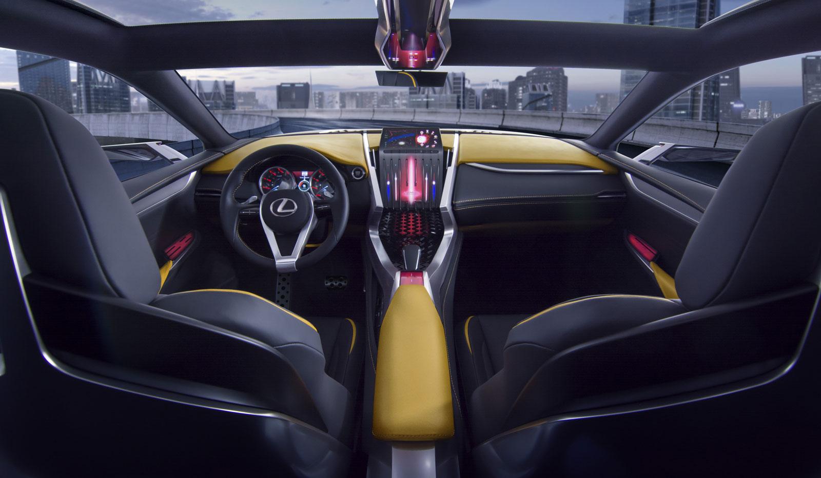 2013 Lexus LF-NX Turbo - Concepts
