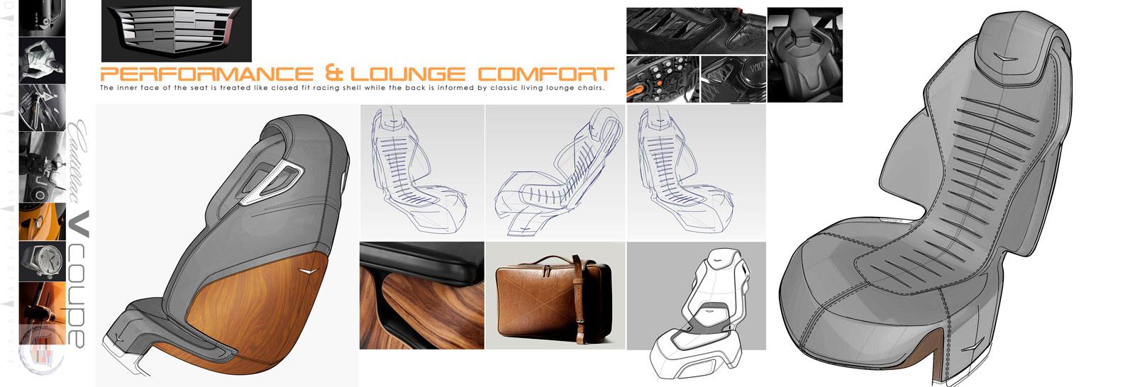 Cadillac Concept Sketches