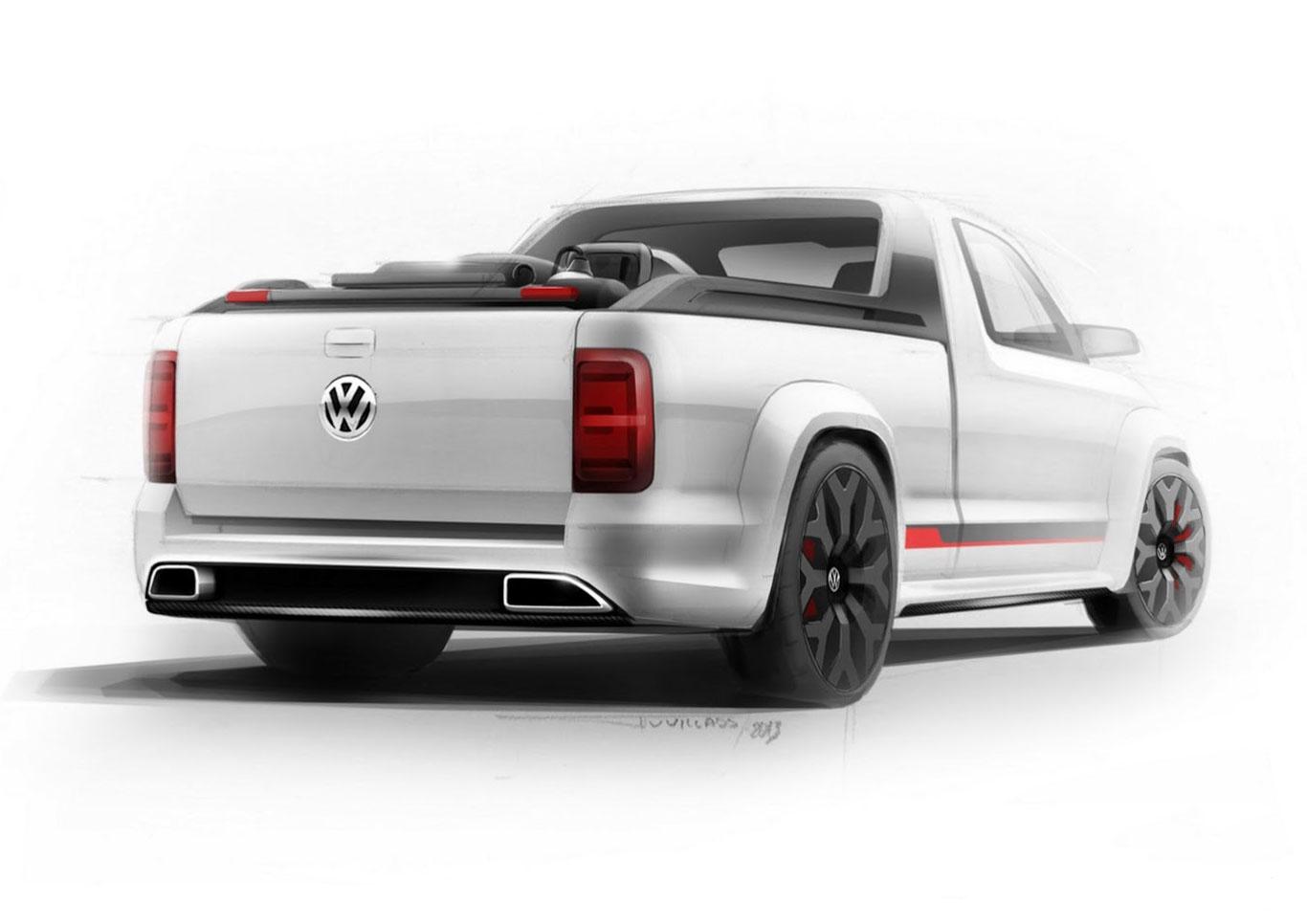 2013 volkswagen amarok power pickup concepts. Black Bedroom Furniture Sets. Home Design Ideas