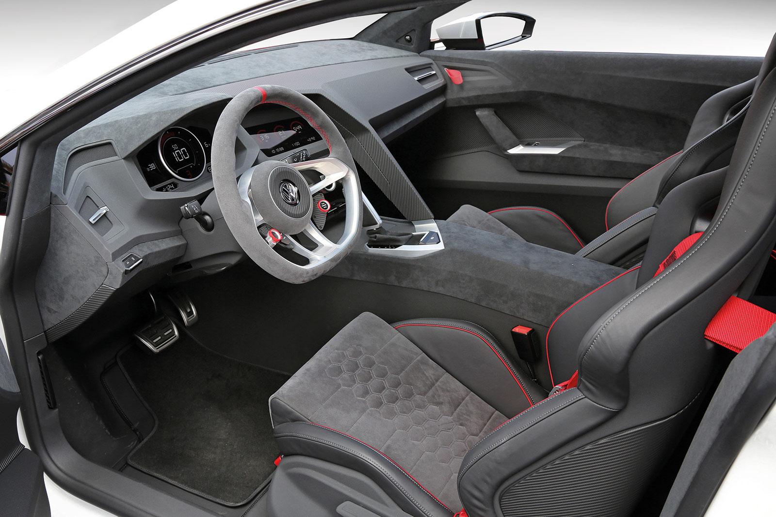Volkswagen Design Vision GTI, 2013   Interior