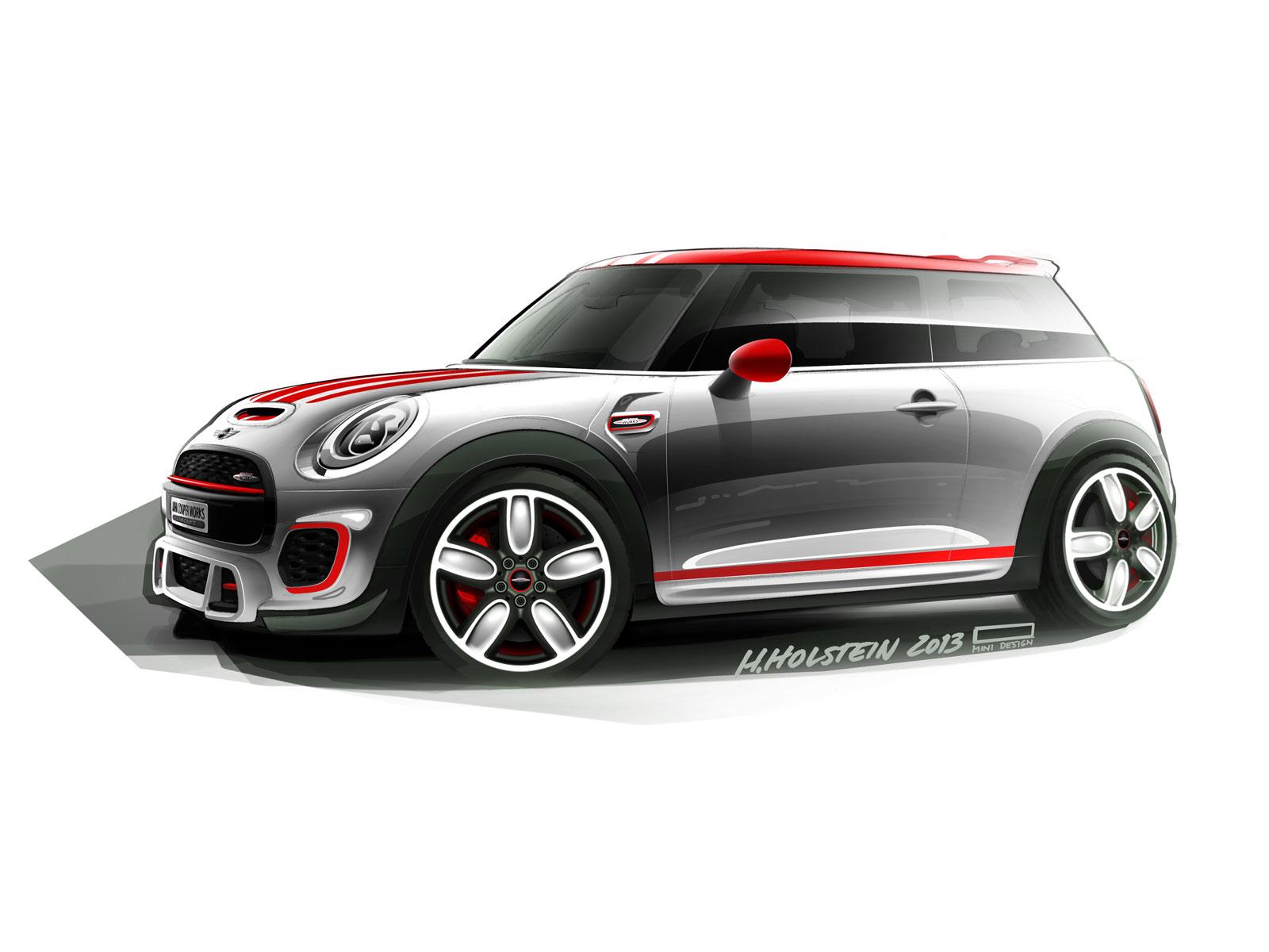 Mini John Cooper Works Concept 2017 Design Sketch