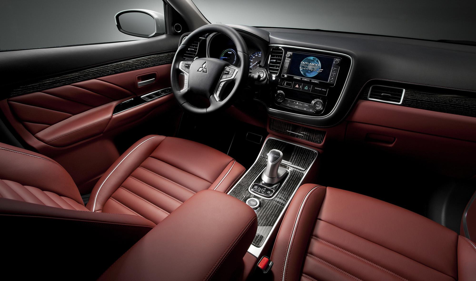 2014 Mitsubishi Outlander PHEV Concept-S - Concepts