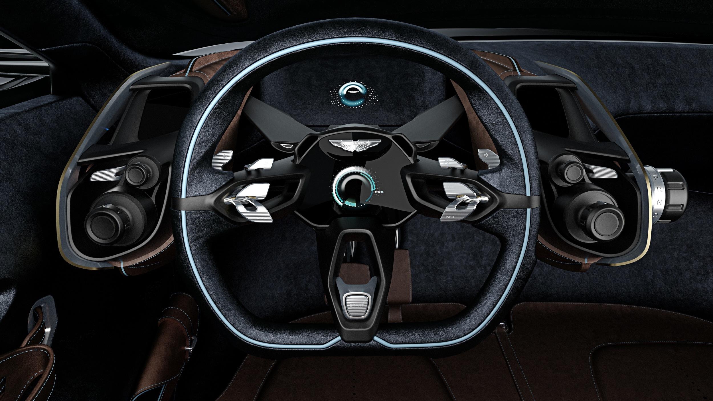 Aston Martin DBX Concept, 2015   Interior