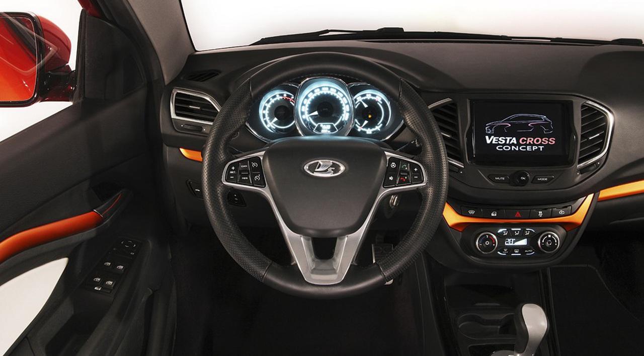 2015 <b>Lada</b> <b>Vesta</b> Cross - Autokonzepte