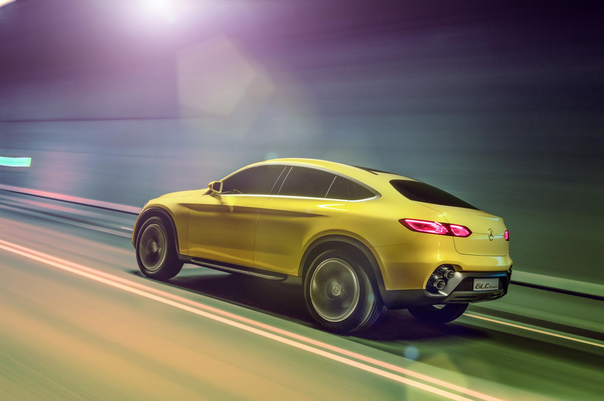 2015 mercedes benz glc coupe concepts for Mercedes benz concept coupe