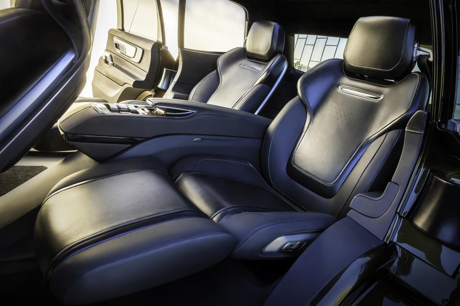 Kia Telluride Concept 2016 Interior