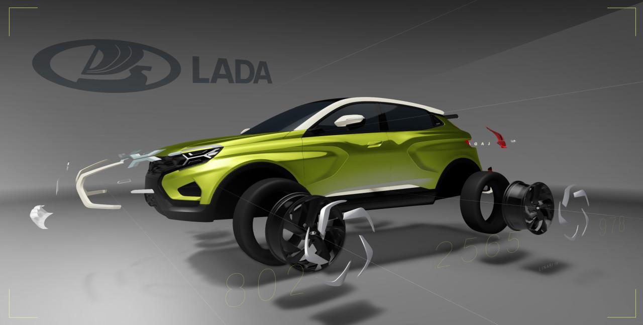 2016 Lada Xcode Концепты