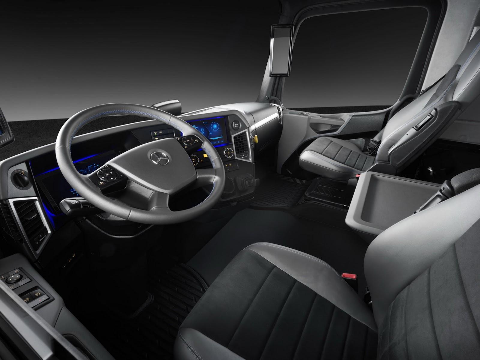 2016 Mercedes Benz Urban Etruck Concepts Interior Concept