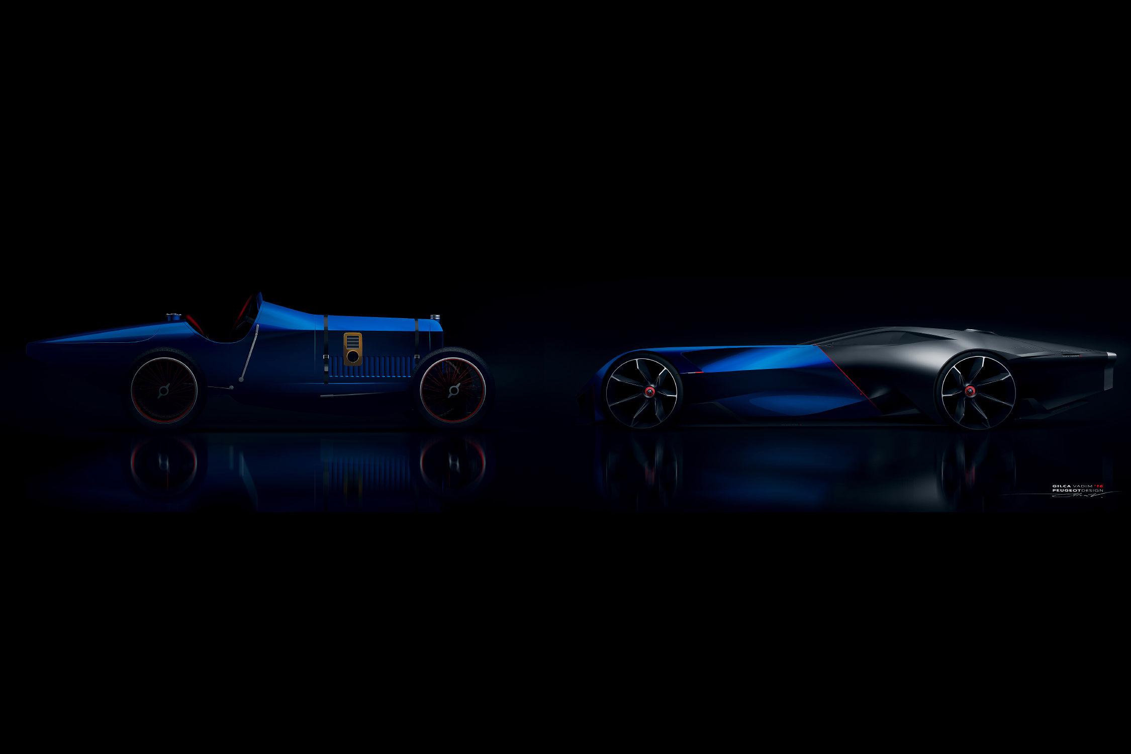 Peugeot L R Hybrid Racing Concept HiConsumption