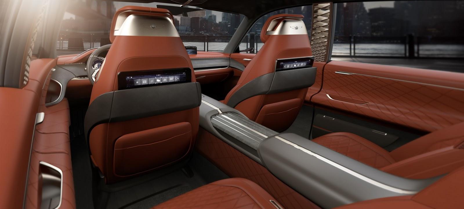 Genesis GV80 Concept, 2017   Interior