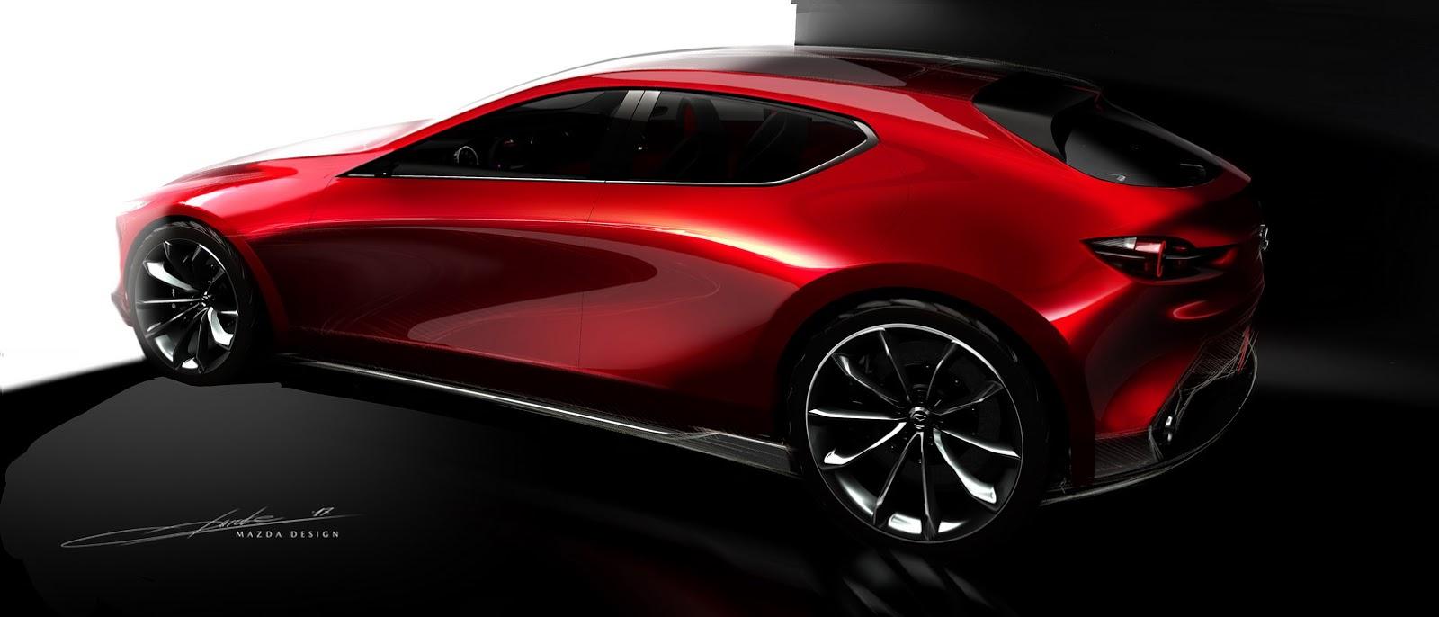 2017 Mazda Kai - Concepts
