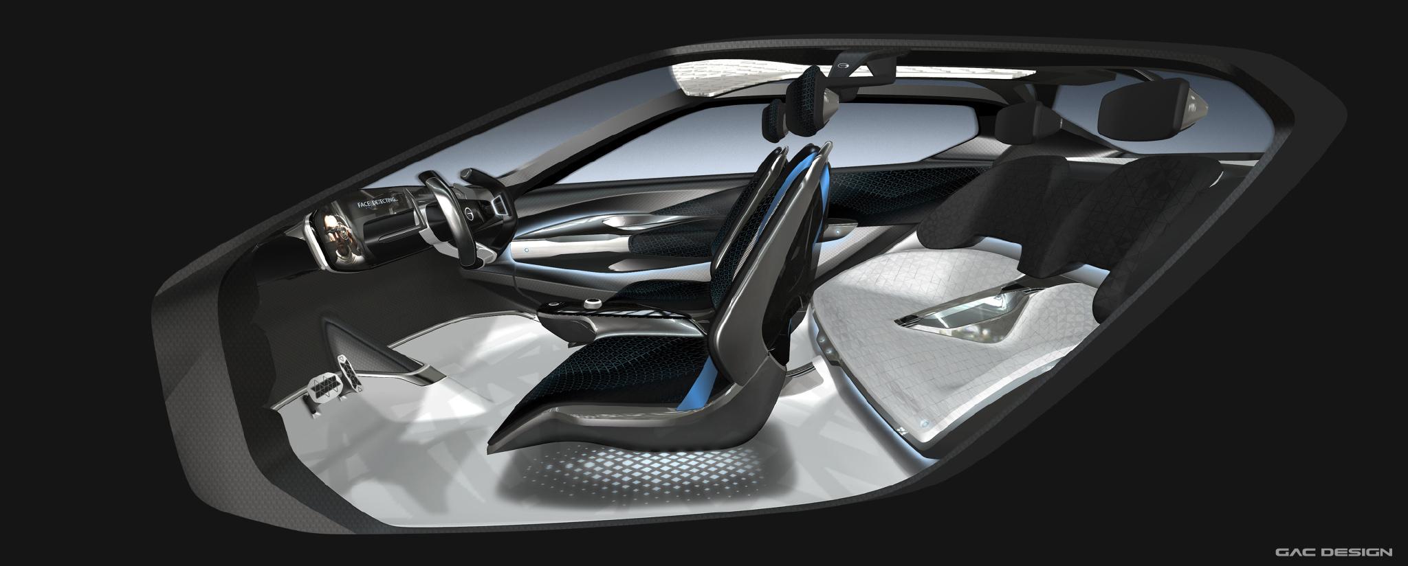 2018 Gac Enverge Autokonzepte