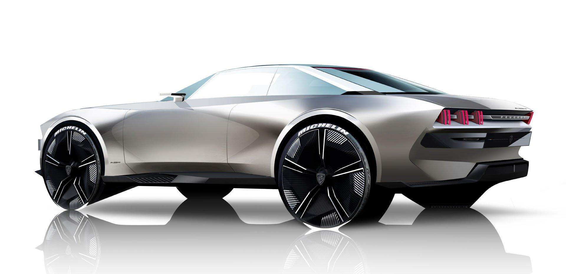 2018 Peugeot E Legend Concepts