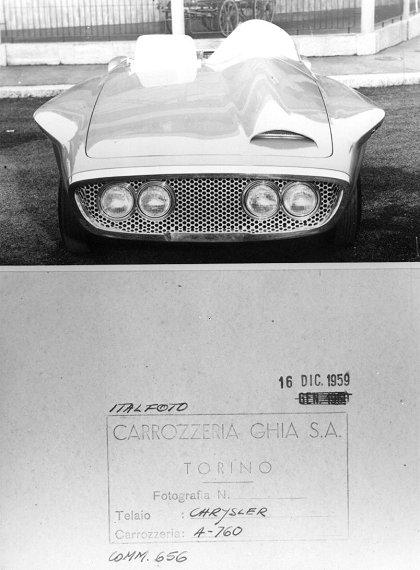 1960 Plymouth RNX (Ghia)