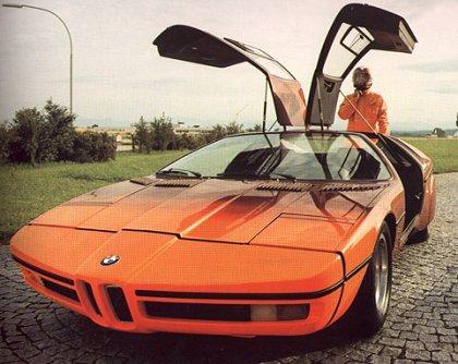 1972 BMW Turbo (Michelotti) - Concepts
