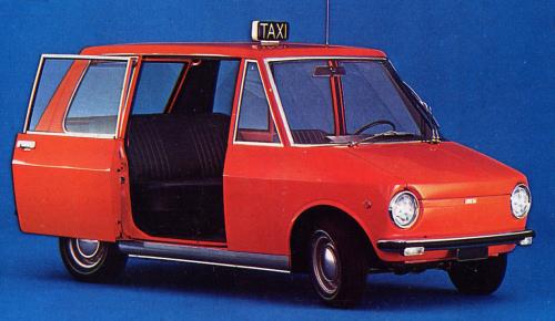 1968 Fiat City Taxi Prototyp Concepts