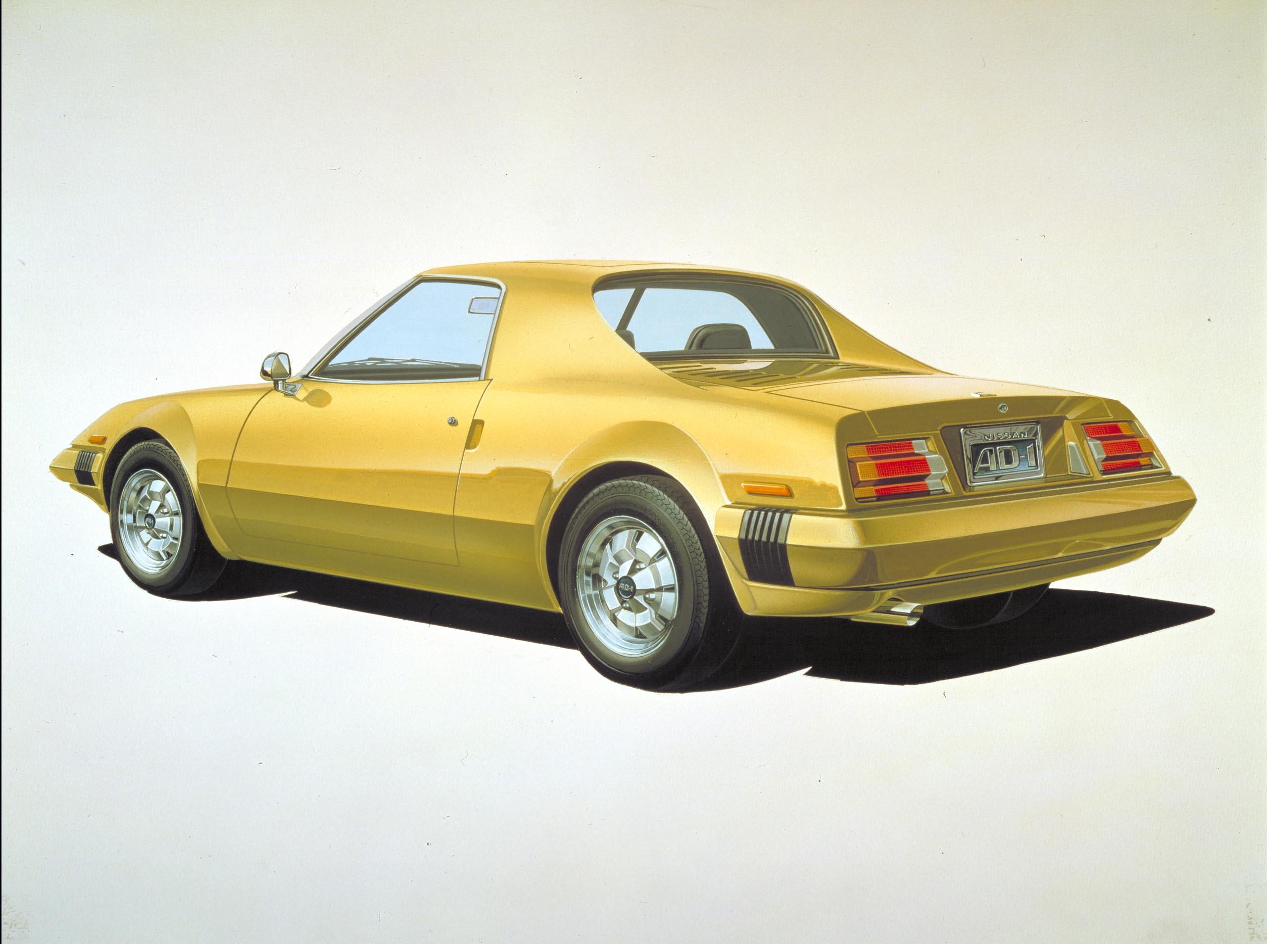 1975 nissan ad 1 concept nissan ad 1 concept 1975 vanachro Gallery