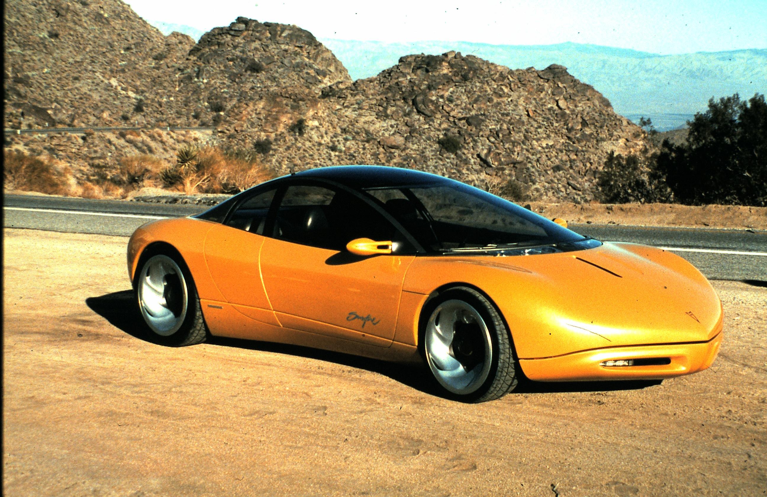 1990 Pontiac Sunfire 2 2 Концепты