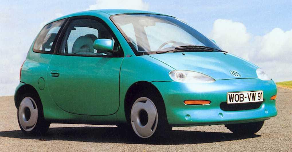 Volkswagen Chico, 1992