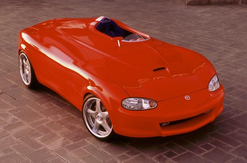 Mazda Miata 1999. Mazda Miata Mono-Posto, 1999