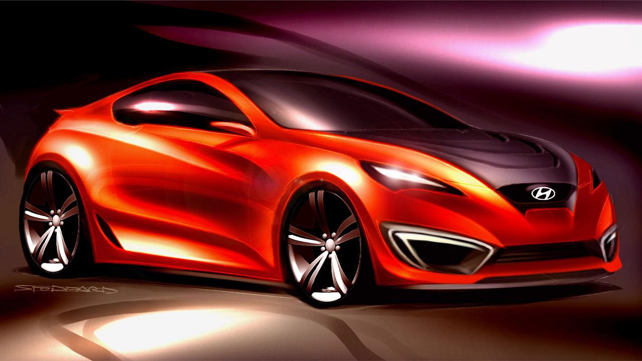 Hyundai Genesis Coupe Sports Car
