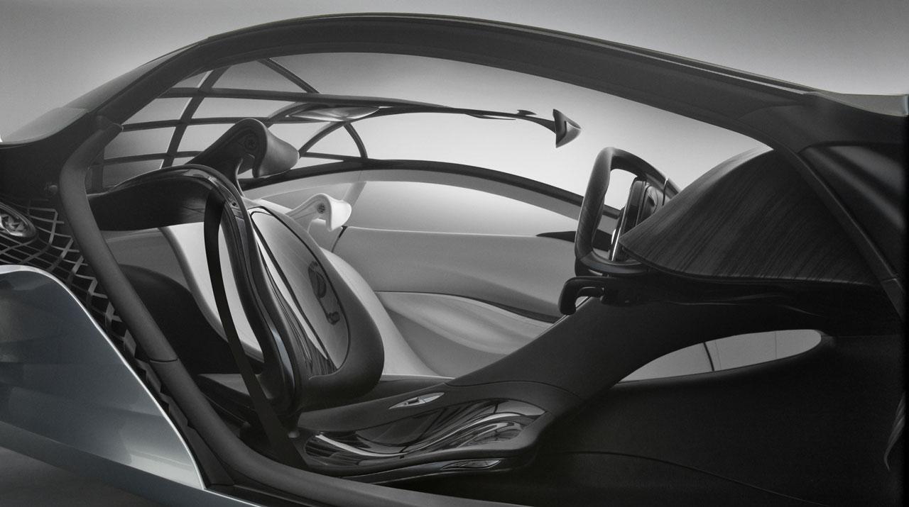 ماشین مزدا تایکی شیک - 6 --- عکس با کیفیت از نمای داخل ماشین شیک مزدا تایکی با طراحی فوق العاده زیبا - Mazda Taiki