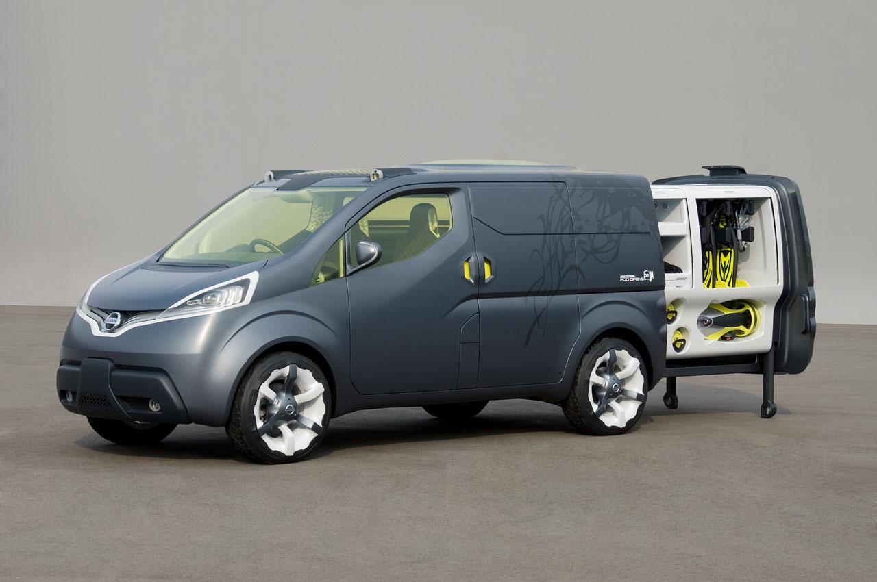 2007 nissan nv200 concept car concept cars drive away 2day. Black Bedroom Furniture Sets. Home Design Ideas