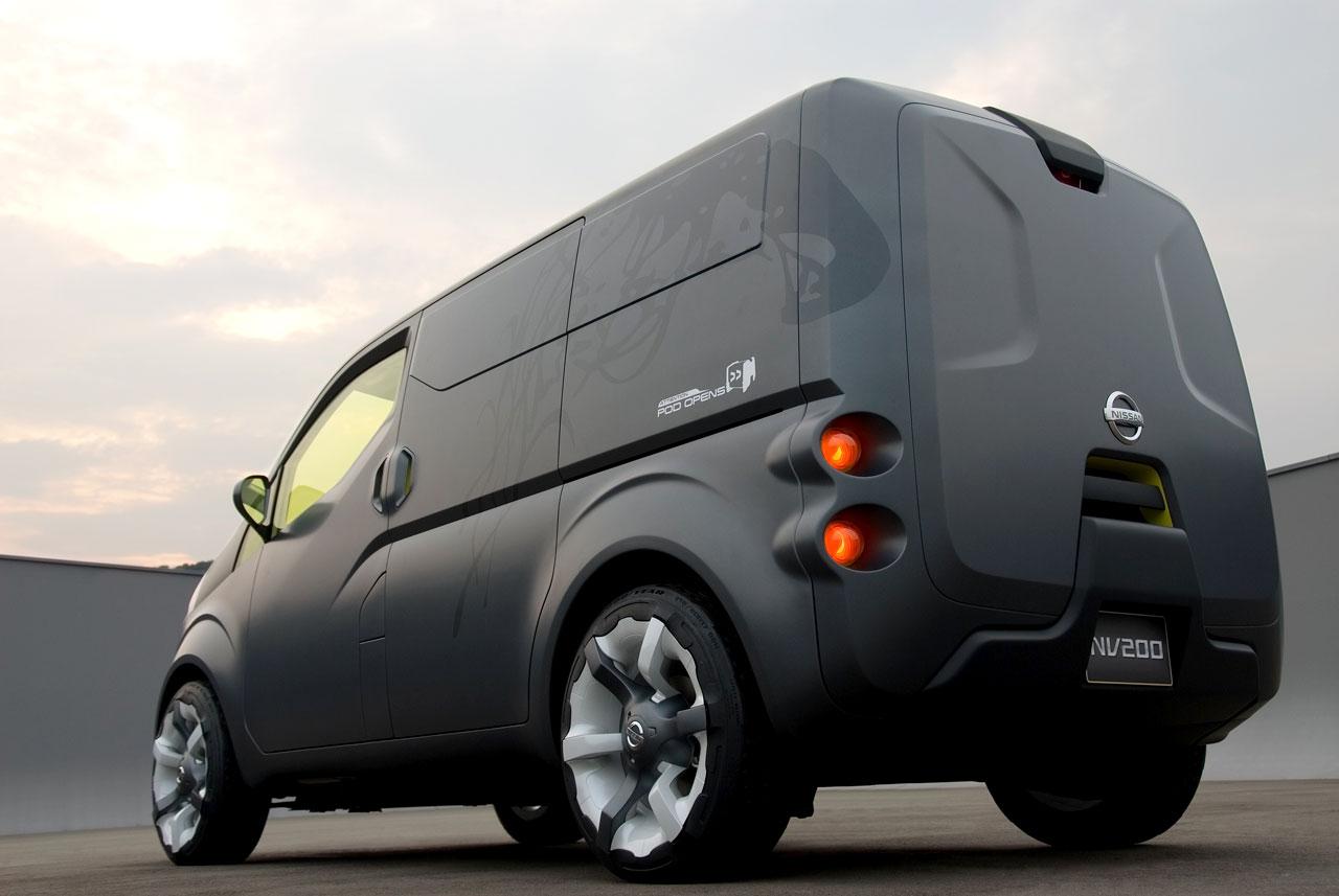 Nissan Nv Passenger >> 2007 Nissan NV200 - Concepts