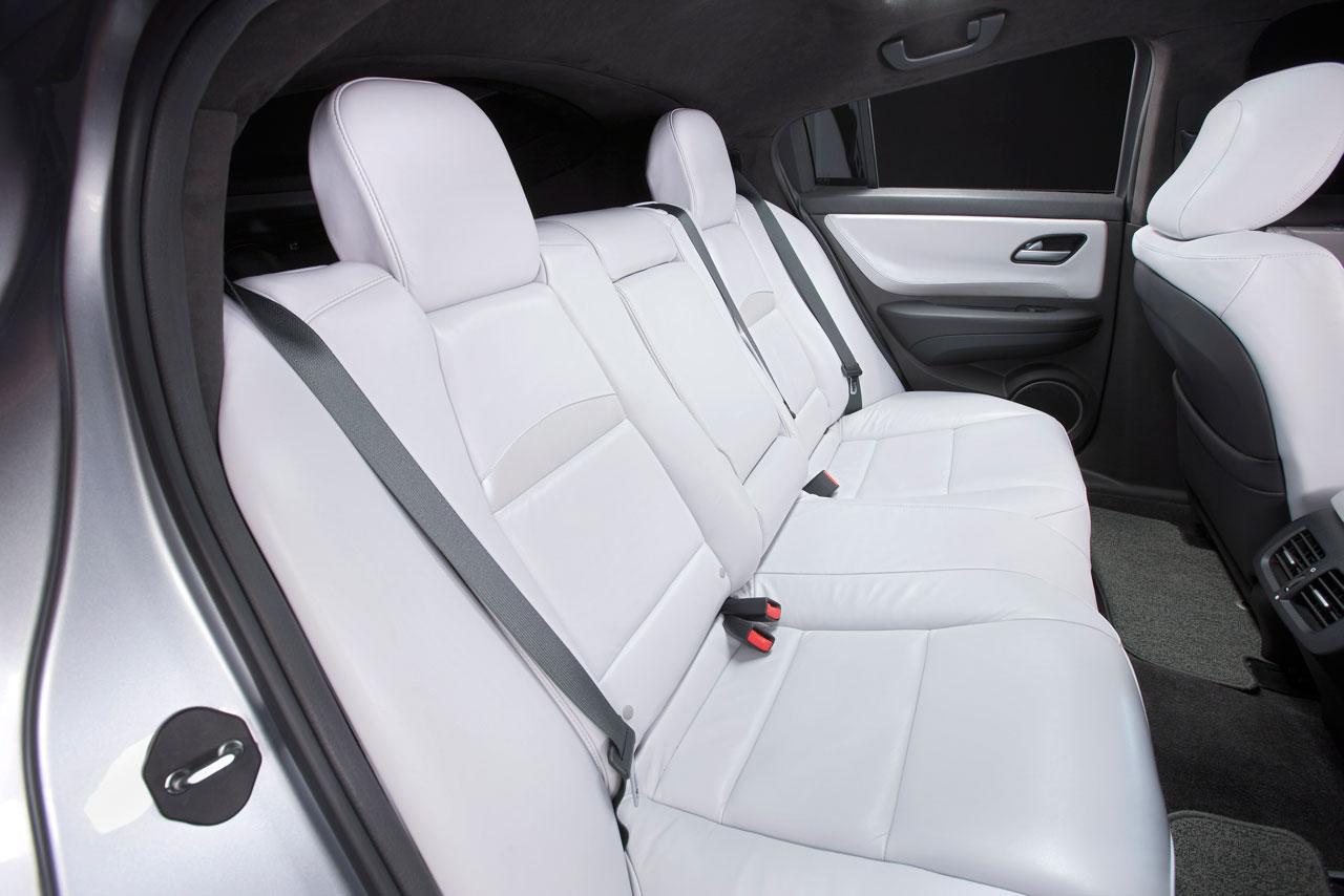 Acura ZDX Concept Rear Seat