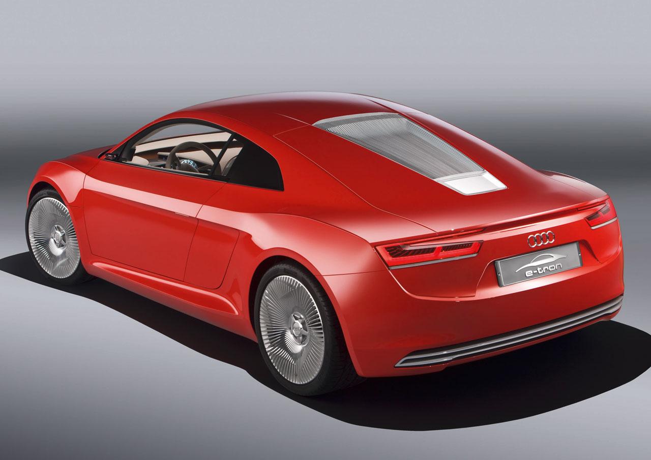 2009 Audi E Tron Concept Concepts