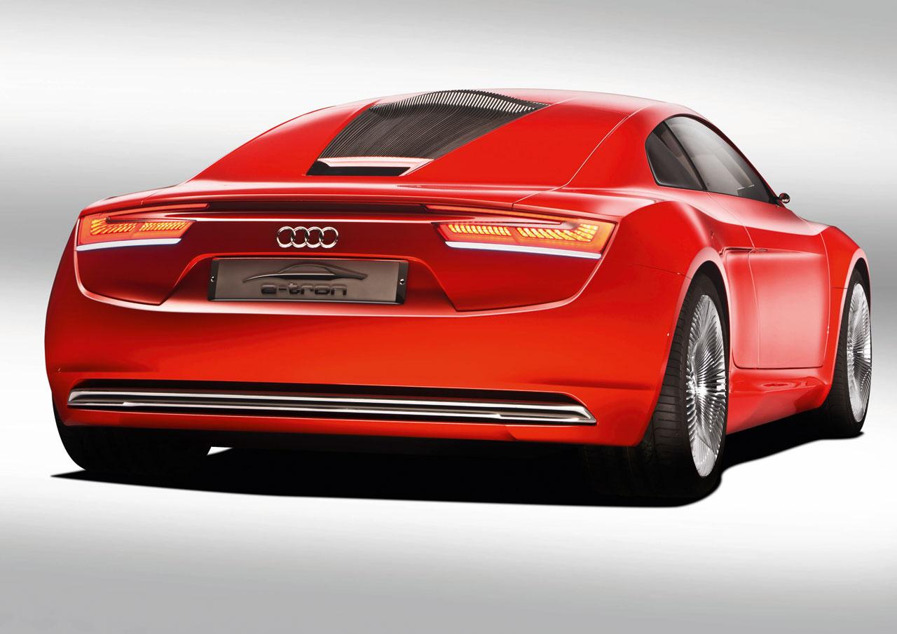 2009 Audi E Tron Concept Концепты