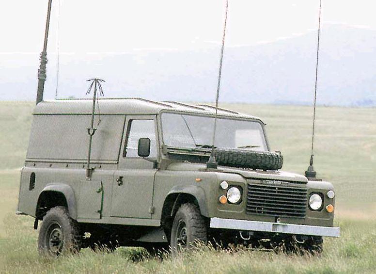 Land Rover Defender Старый вояка Blog