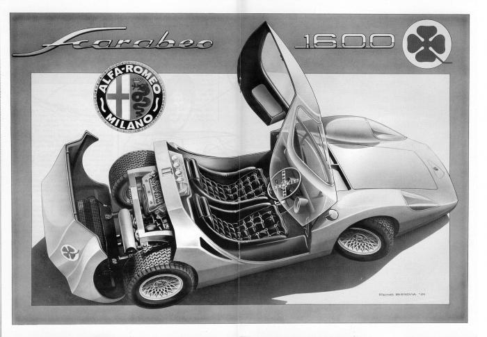 1966 Alfa Romeo Scarabeo By OSI
